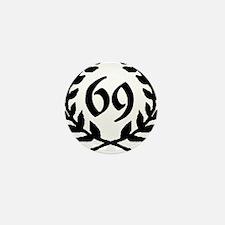69 Laurel Mini Button