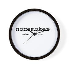 """nonsmoker"" Wall Clock"