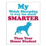 Welsh Sheepdog Small Poster