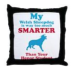 Welsh Sheepdog Throw Pillow