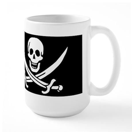 Pirate Calico Jack Large Mug