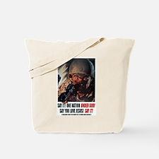 Under God! Tote Bag