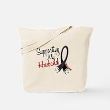 Supporting My Husband MELANOMA Tote Bag
