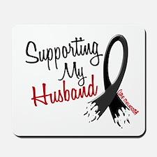 Supporting My Husband MELANOMA Mousepad