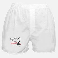 Supporting My Husband MELANOMA Boxer Shorts