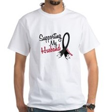Supporting My Husband MELANOMA Shirt