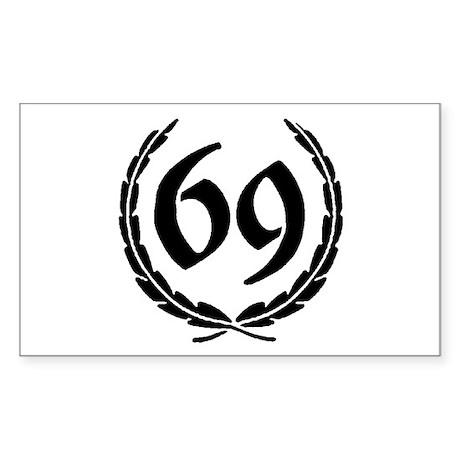 Laurel 69 Rectangle Sticker