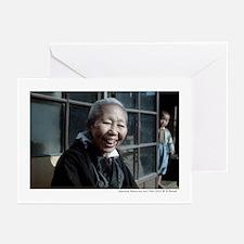 Japanese mama-san & child Greeting Cards