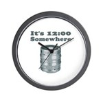 It's 12:00 Somewhere Wall Clock