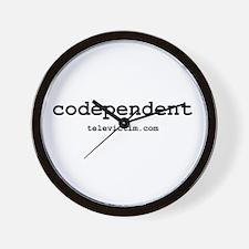 """codependent"" Wall Clock"