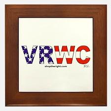 VRWC Logo Framed Tile
