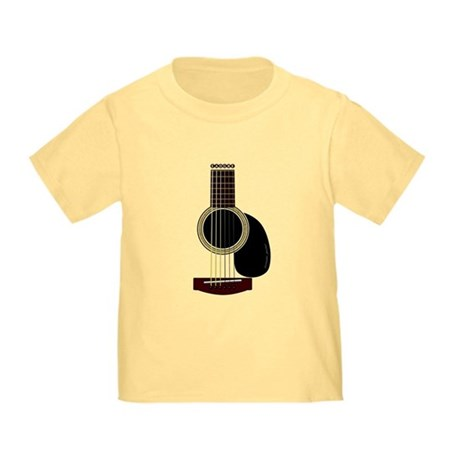 acoustic guitar Toddler T-Shirt