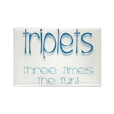 IVF Triplets Rectangle Magnet