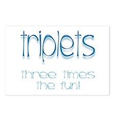 IVF Triplets Postcards (Package of 8)