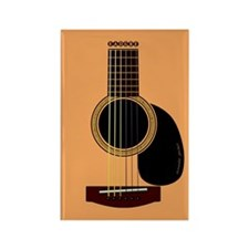 acoustic guitar Rectangle Magnet