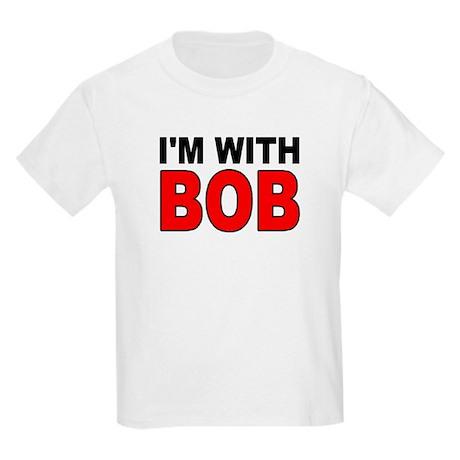 I'M WITH BOB Kids Light T-Shirt