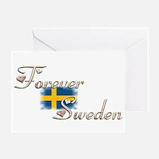 Forever Sweden - Greeting Card