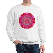 Pink Crystal Mandala Sweatshirt