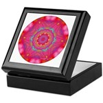 Pink Crystal Mandala Keepsake Box