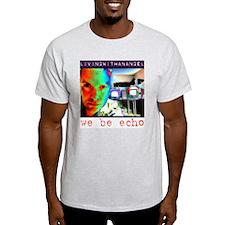 LivingWithAnAngel Ash Grey T-Shirt