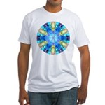 """Tribute to Chihuly"" Fitted T-Shirt"
