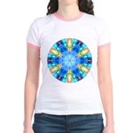 """""""Tribute to Chihuly"""" Jr. Ringer T-Shirt"""