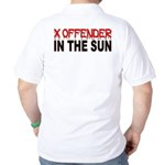 X OFFENDER In The SUN Golf Shirt