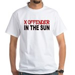 X OFFENDER In The SUN White T-Shirt