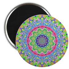 """Pastel Mandala 2.25"""" Magnet (10 pack)"""
