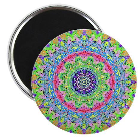 Pastel Mandala Magnet