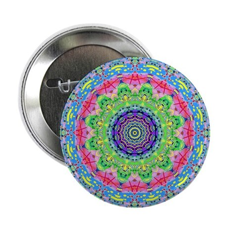 "Pastel Mandala 2.25"" Button (100 pack)"