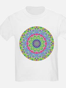 Pastel Mandala Kids T-Shirt