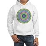 Pastel Mandala Hooded Sweatshirt