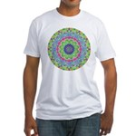 Pastel Mandala Fitted T-Shirt