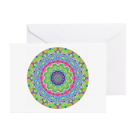 Pastel Mandala Greeting Cards (Pk of 10)