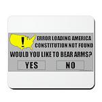 Error Loading America (RKBA) Mousepad