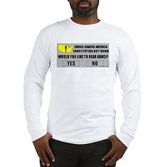 Error Loading America (RKBA) Long Sleeve T-Shirt