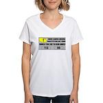 Error Loading America (RKBA) Women's V-Neck T-Shir