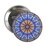"""Mandala 2.25"""" Button (10 pack)"""