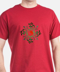 Zen Christmas Wreath T-Shirt