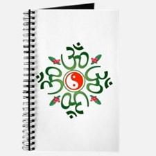 Zen Christmas Wreath Journal
