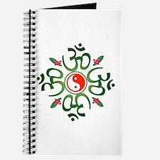 Zen Christmas Wreath Journal