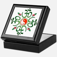 Zen Christmas Wreath Keepsake Box