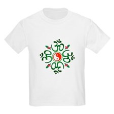 Zen Christmas Wreath T-Shirt