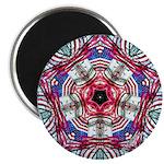 "4th of July Mandala 2.25"" Magnet (100 pack)"