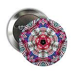 4th of July Mandala Button