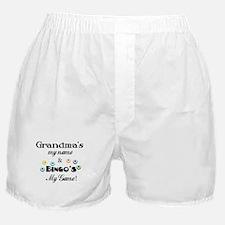 Grandma and Bingo Boxer Shorts