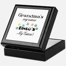 Grandma and Bingo Keepsake Box