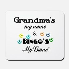 Grandma and Bingo Mousepad