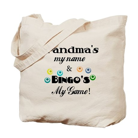 Grandma and Bingo Tote Bag